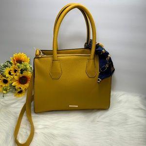 Aldo Women's Satchel Handbag Mustard New NWOT